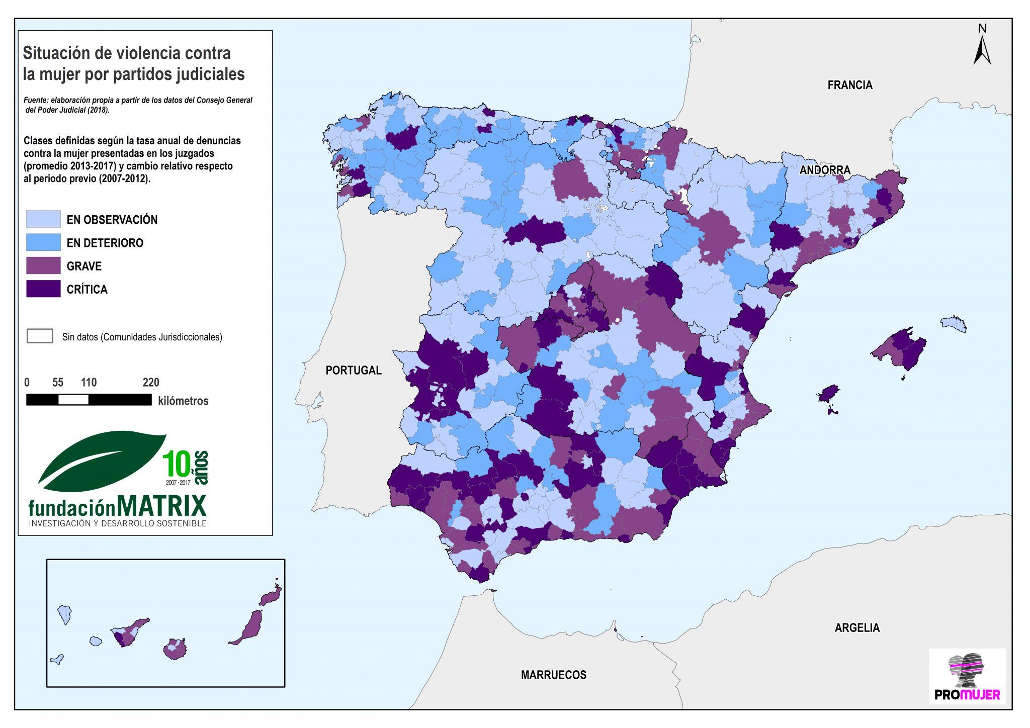 Fundacion Matrix Areas Prioritarias De Prevencion De La Violencia