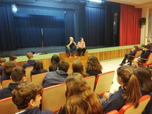 Teatro en un colegio de Reus